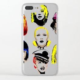 xxxtttiiinnnna Clear iPhone Case