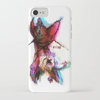 pain iPhone & iPod Cases featuring [PAIN] by Rideth_Mochi