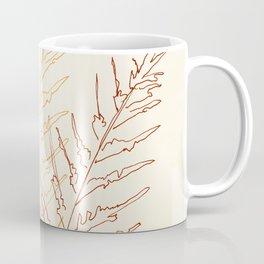 Red Ferns Coffee Mug