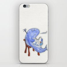 the whatwhale iPhone & iPod Skin