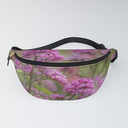 Purple Blooms Fanny Pack
