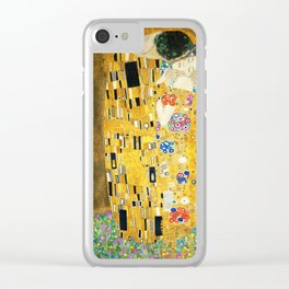 Gustav Klimt The Kiss Clear iPhone Case