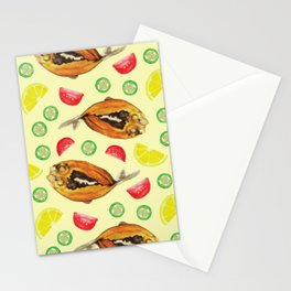 Milkfish Pattern Stationery Cards