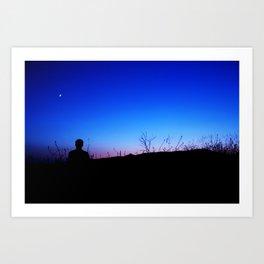 Sweet Silhouette Art Print
