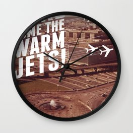 Here They Come! Wall Clock