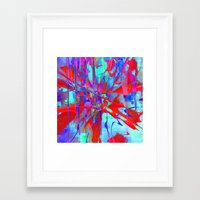 revolution Framed Art Prints featuring revolution by David Mark Lane