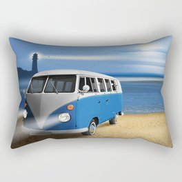 Blue ... beach ... bulli Rectangular Pillow