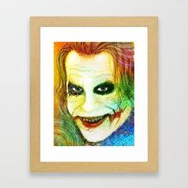 Joker New Framed Art Print