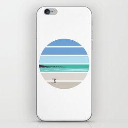 Tiree Longboarder iPhone Skin