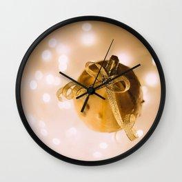 The Golden Pumpkin (Color) Wall Clock