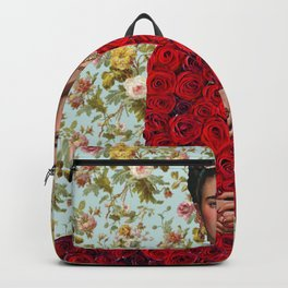 Flowers Frida Kahlo VIII Backpack