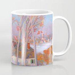 Clarence Gagnon - Première Neige - First Snow, Baie St. Paul Coffee Mug