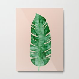 Composition tropical leaves VII Metal Print