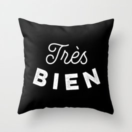 Très Bien Throw Pillow