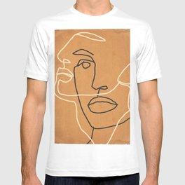 Abstract Face 6 T-shirt