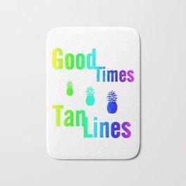 Tan Lines Bath Mat