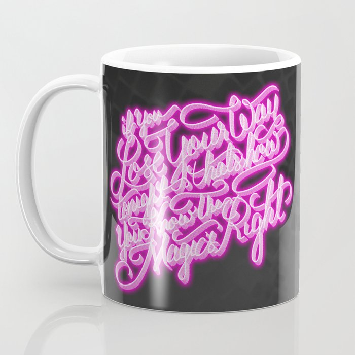Daft Punk - Doin' It Right - Lettering Coffee Mug