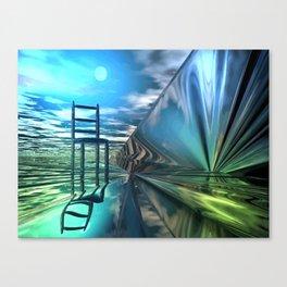 Der leere Stuhl Canvas Print