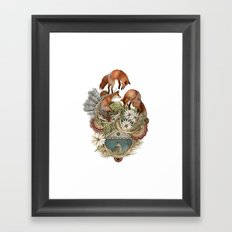 House of Fox // Polanshek Framed Art Print