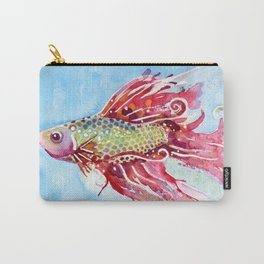 Fish Swim Carry-All Pouch