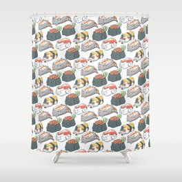 Sushi Cats Shower Curtain
