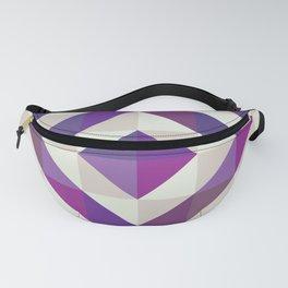 Patchwork Purples Fanny Pack