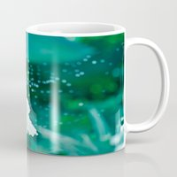neverland Mugs featuring Off to Neverland by The Dreamery
