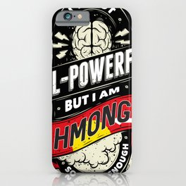 Hmong Pride Region and State iPhone Case