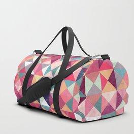 Lovely Geometric Background Duffle Bag