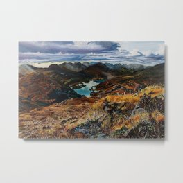 View from Torc Mountain, Killarney National Park, Ireland Metal Print