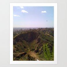 This is Los Angeles Art Print