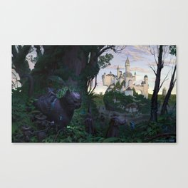 Cat Empire Canvas Print