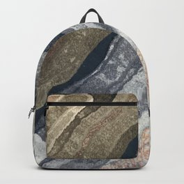 Abstract Color Patterns Backpack