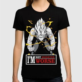 vegeta monster T-shirt