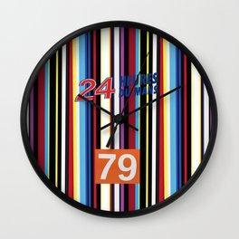 Le Mans Art Car design Wall Clock