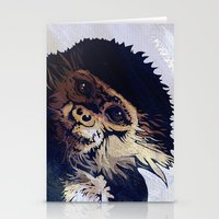 monkey Stationery Cards featuring MONKEY by SAMHAIN