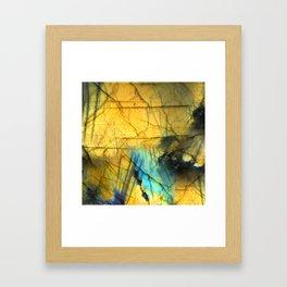 LABRADORITE 2 Framed Art Print