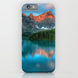 Canada Photography - Banff National Park In The Evening iPhone Case