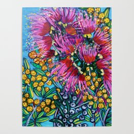 Australian Flora Poster