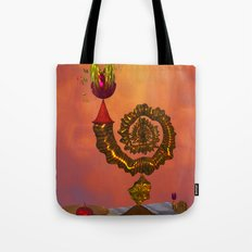 The Wizard's Table Tote Bag