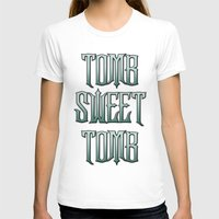 haunted mansion T-shirts featuring Haunted Mansion - Tomb Sweet Tomb by Brianna