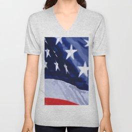 Flag of the United States Unisex V-Neck