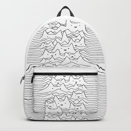 Furr Division White Backpack