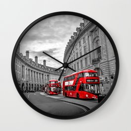 London Busses Wall Clock