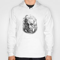 einstein Hoodies featuring Einstein by Jaume Tenes