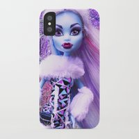 monster high iPhone & iPod Cases featuring Monster High Abbey Doll MHSQ by Renée