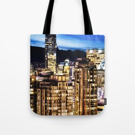 Twilight Vancouver and ShangriLa Hotel Tote Bag