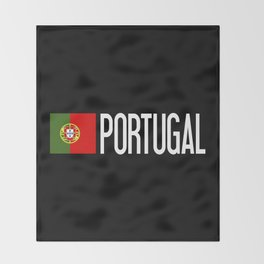 Portugal: Portuguese Flag & Portugal Throw Blanket