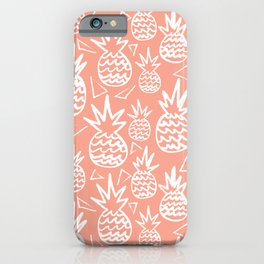 Pineapple in Clay iPhone Case