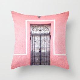 Door in Granada, Nicaragua Throw Pillow